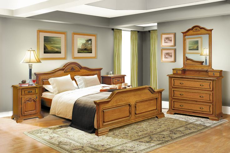 Mobila / Mobilier Dormitor clasic lemn Claudia nuc/stejar/cires sau alb/crem | RON0.00 | #mobilena.ro