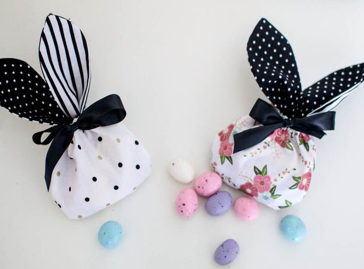 Show Off Saturday: Bunny Treat Bags! — SewCanShe | Free Daily Sewing Tutorials