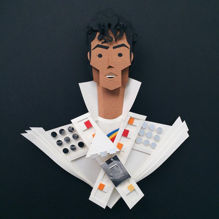 The Many Faces of Michael Jackson, a Tribute in Paper by Belinda Rodriguez - Captain EO