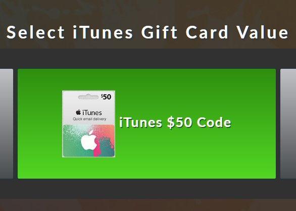 free itunes gift card codes no human verification