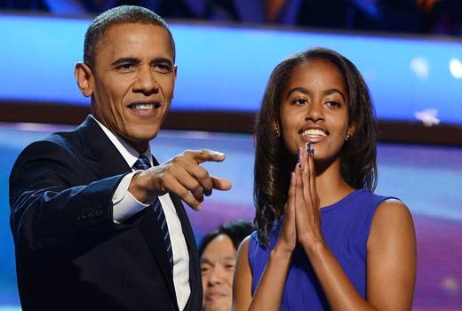 President Obama: Malia on Facebook is worrisome, so no Facebook pages for the first daughters