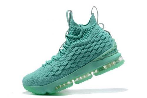 0711139b38c6 Nike LeBron 15 Mint Green Mens Basketball Shoes Cheap Sale