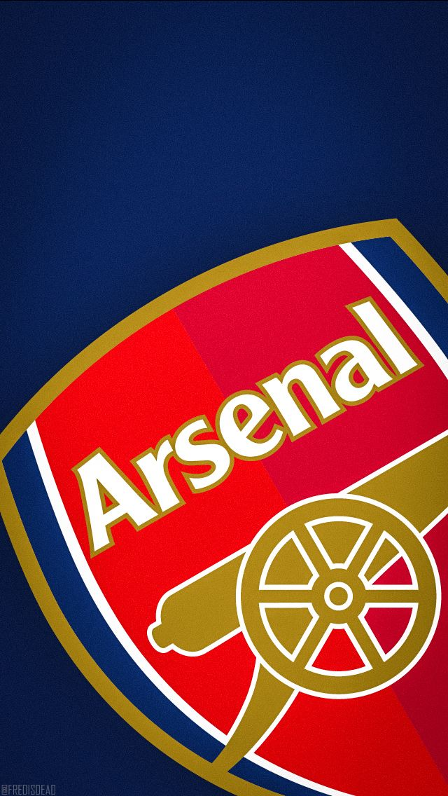 #Arsenal #Wallpaper #LockScreen #HomeScreen #iPhone5 #640x1136 #Logo #Crest #Gunner #Gooner #FredIsDead