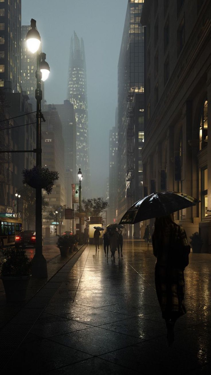 Urban Landscape Urban Landscape Urban Landscape In 2020 City Aesthetic City Wallpaper Rain Wallpapers