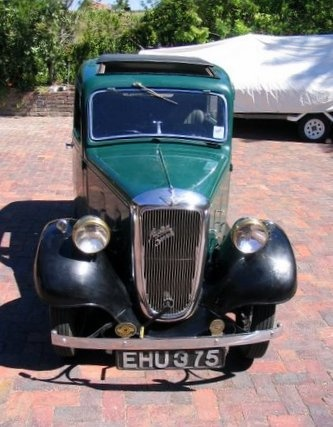 1937 Austin 7 Ruby