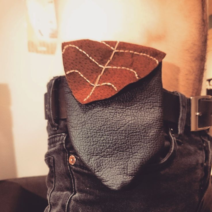 Leather + Suede Crystal Hip Pouch  (3/3)  #leather #suede #leatherwork #handmade #art #accessories #bag #faerie #faery #crystals
