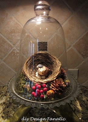 Pretty Christmas Idea. This is so much like my other bird ornaments I love it. New idea for Christmas crafts.