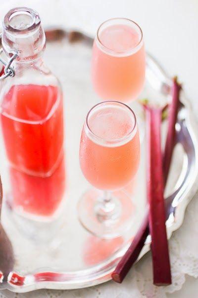 Ginger Rhubarb Bee's Knees | The Bojon Gourmet