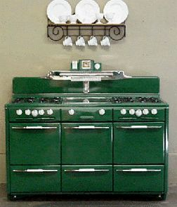 60 - 70 inch Antique Gas Stoves... I want in red!! but out of my price range