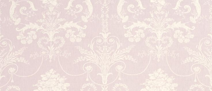Josette Amethyst Floral Linen/Cotton Mix Curtain Fabric at Laura Ashley