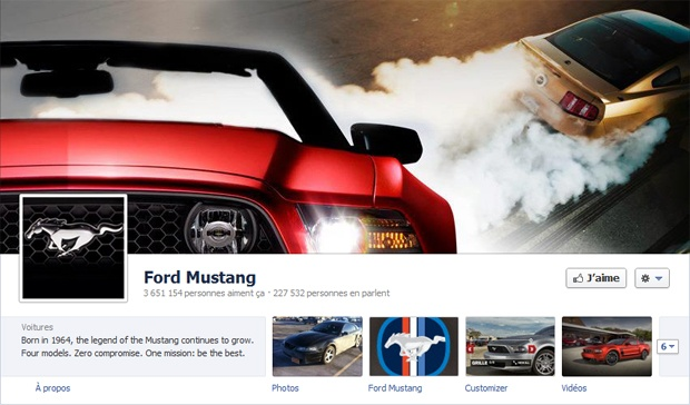 Ford Mustang - Facebook