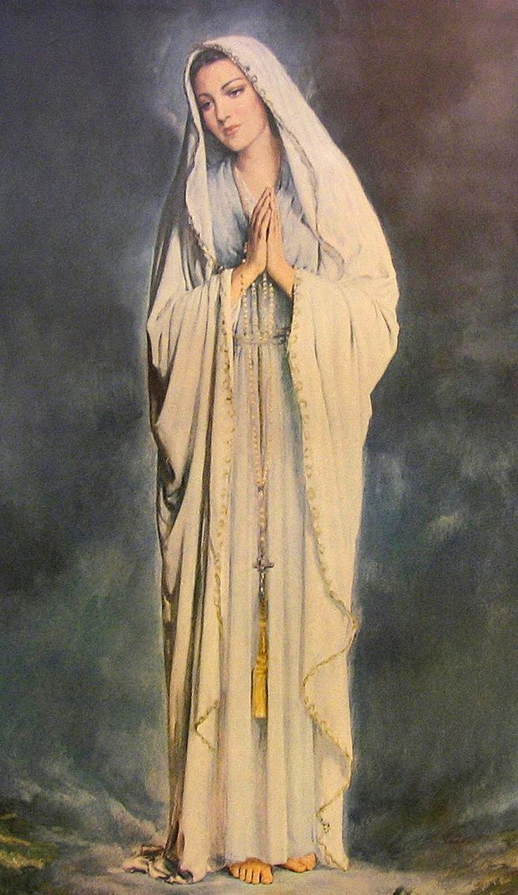 Mary's Graces: Our Lady of Lourdes  modest
