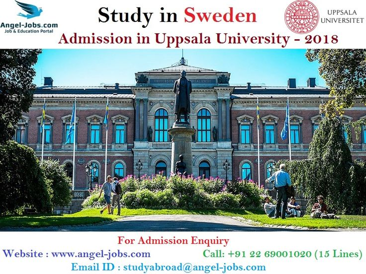 #StudyinSweden #StudyinSwedenforIndianStudents #StudyAbroad #AngelOverseasEducation #AngelJobs  Get Direct Admission in Uppsala University - Sweden  For Admission Enquiry Website : www.angel-jobs.com Call: +91 22 69001020 (15 Lines) Email ID : studyabroad@angel-jobs.com  *No Consulting Charge *No additional Cost to be paid before or after Visa  Uppsala University is a research university in Uppsala, Sweden, and is the oldest university in Sweden and all of the Nordic countries still in…