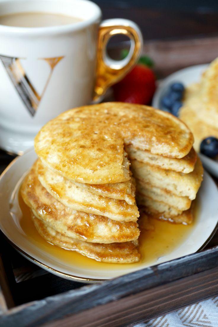 Fluffy Vegan Buttermilk Pancakes The Baking Fairy Recipe Buttermilk Pancakes Food Recipes