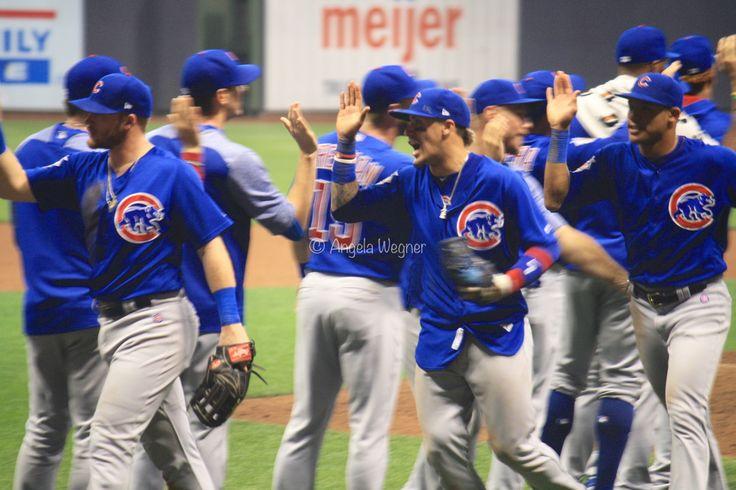 Ian Happ, Javier Baez, #ElMago, Addison Russell, Chicago Cubs Win 5-3! @ Miller Park, 9/21/17.