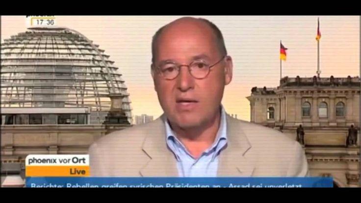 Gregor Gysi: Deuschlands Politik von aussen bestimmt