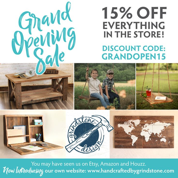 Reclaimed Wood Furniture Sale: 15% Off Everything In The Store!