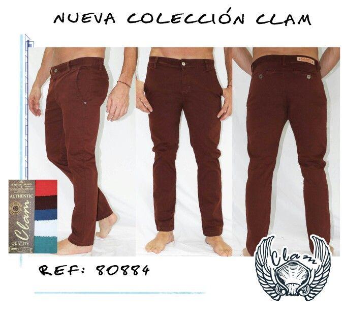 Pantalón de carta color