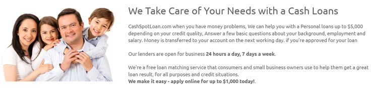 15 Minute Payday Loans Direct Lenders - We can deliver small loans. No Headache & No TeleCheck Required. Sign Up Online Today!