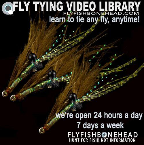 saltwater flies & saltwater fly tying videos by flyfishbonehead. Bonefish flies, more bonefish fly tying in our library