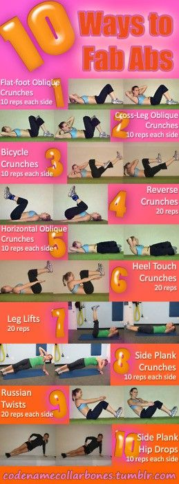 10 Ways To Fab Abs!