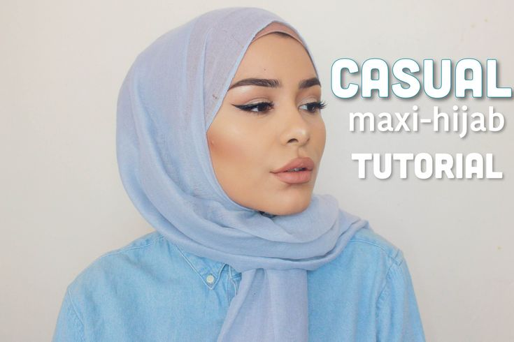 CASUAL VERY EASY HIJAB TUTORIAL - YouTube