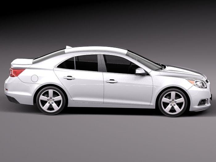 chevrolet malibu 2014 | Chevrolet Malibu 2014 3D Model .max .obj .3ds .fbx .c4d .lwo .lw .lws ...