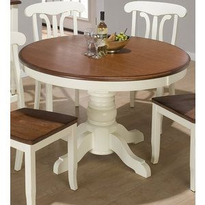 17 best images about living dining on pinterest lumber liquidators paint colors and - Round kitchen table with butterfly leaf ...