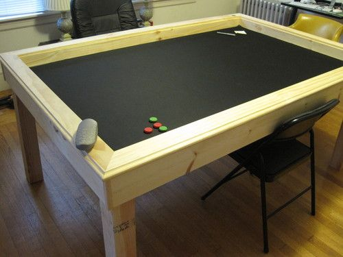 I Love The Chalk Board Paint Idea. A Chalk Board With A Permanent Grid  Built A Gaming Table! (with Instructions And Eventual Dining Cover)