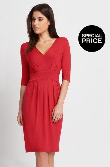 Stylové šaty z žerzeje  orsay 449 kč