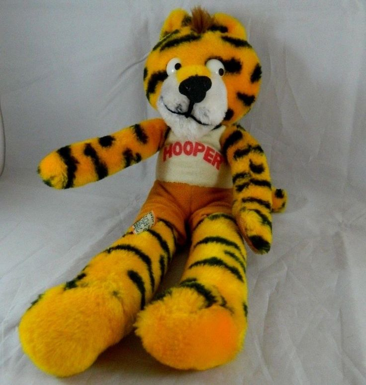 "Vintage 1978 Sambo's Restaurant ""Hooper"" stuffed Tiger Dakin Plush  #Dakin"