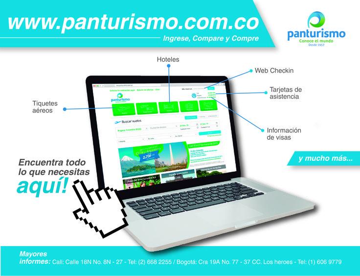 Encuentra todo lo que necesitas AQUÍ! en www.panturismo.com