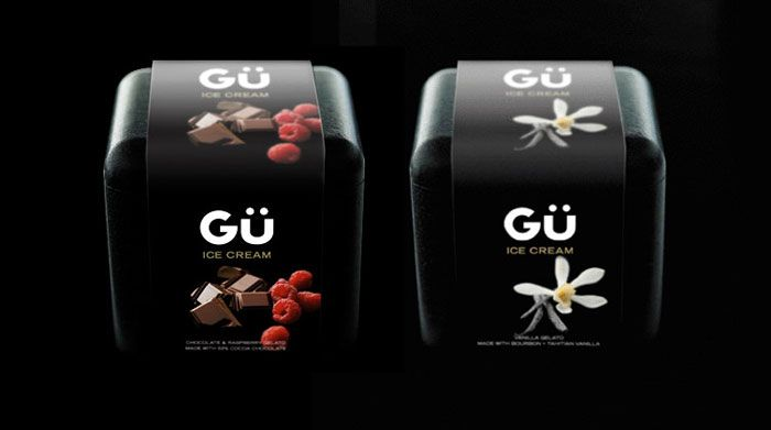 25 Refreshing Ice CreamPackages - The Dieline - The Goodness of Gü