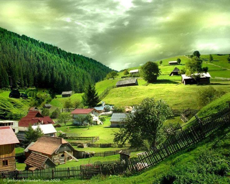 Plaiul Mioritic - Romania. Courtesy http://www.vistawallpapers.com (CC). - Pixdaus
