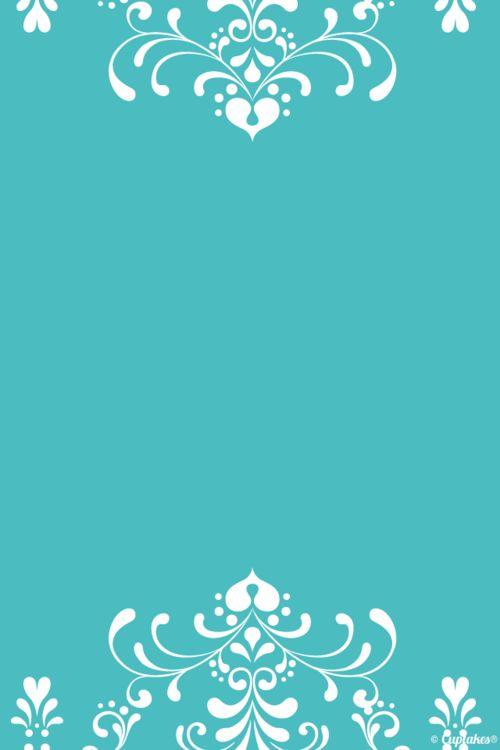Turquoise Tiffany blue pattern edge iphone phone wallpaper background lock screen