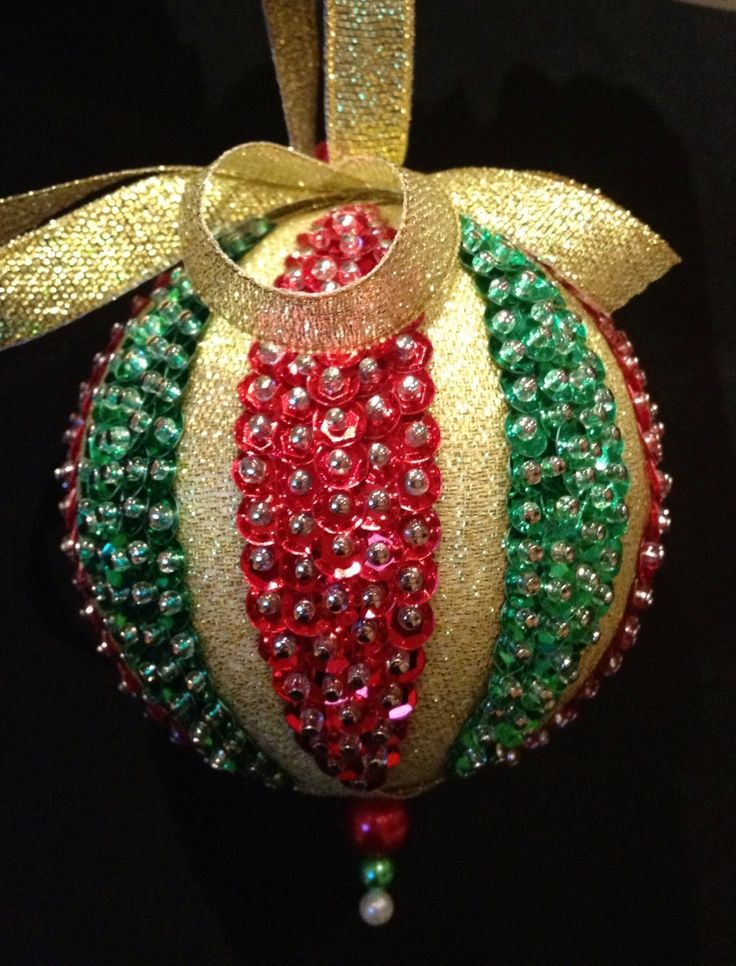 Top 25 Best Sequin Ornaments Ideas On Pinterest Foam