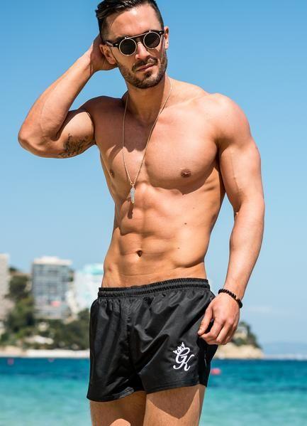 GK Swim Shorts Black