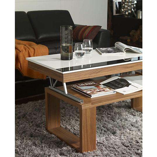 table basse qui se transforme. Black Bedroom Furniture Sets. Home Design Ideas