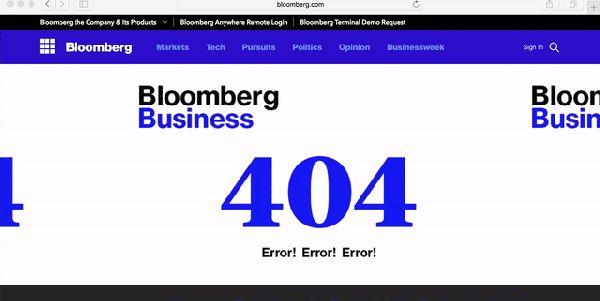 7 animações divertidas do 'erro 404' na web