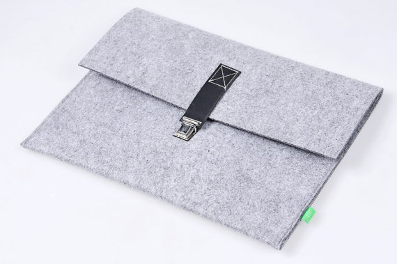 Macbook pro 13 inch Macbook Sleeve Case  brief Wool Felt Custom Made Felt Case Sleeve Cover Bag