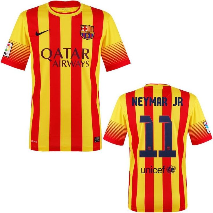 Neymar Jr Barcelona Jersey for Boys and Youth