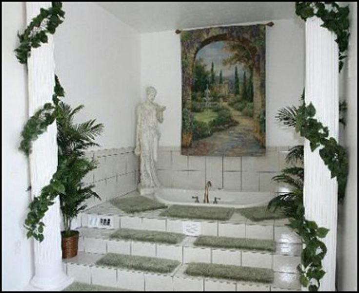 Greece house decoration house and home design for Ancient greek decoration ideas