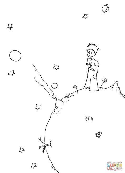 Ausmalbild Der Kleine Prinz Manuskripte Kategorien Der Kleine
