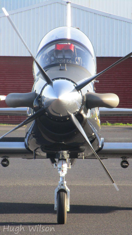 RNZAF Beechcraft T6-C Texan ii @ Ardmore