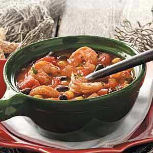 Shrimp and Black Bean Soup   Recipe   Black Bean Soup, Black Beans and ...