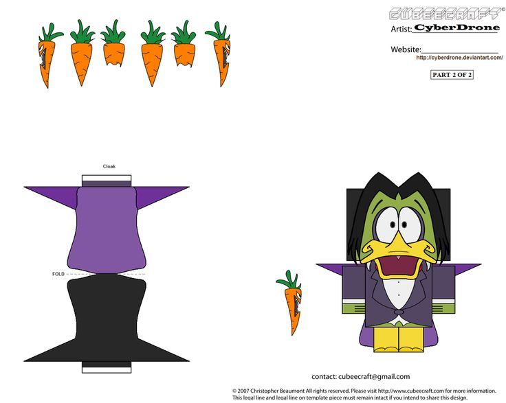 Cubee - Count Duckula '2of2' by CyberDrone.deviantart.com on @deviantART
