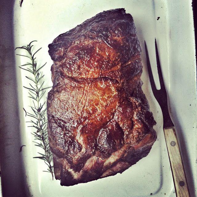 pork slow roasted glazed pork shoulder barbecue glazed pork slow ...
