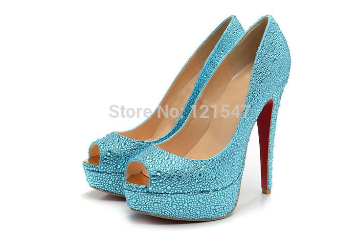 Cheap sandal upper, Buy Quality pumps blue directly from China pumps high heel shoes Suppliers: