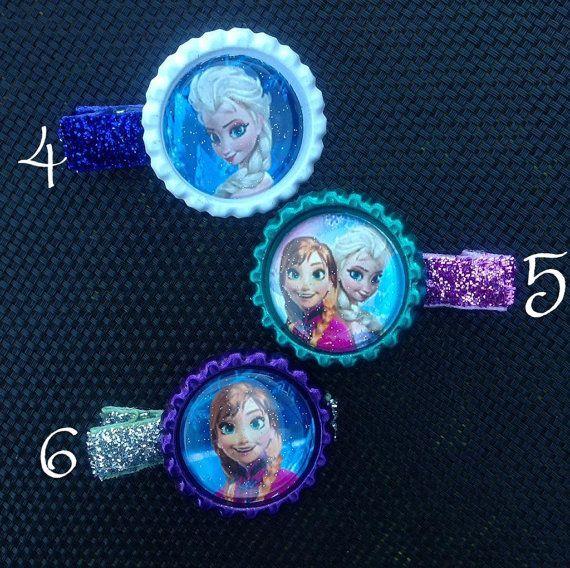 Disney  Frozen clips by KaysKoutureKreations on Etsy, $2.00