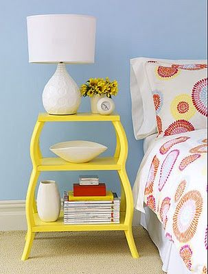 cool side table / funky & whimsical end table furniture